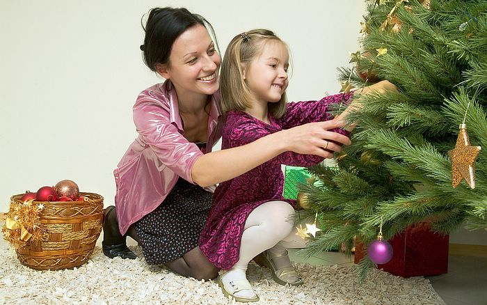 Christmas Decorating with Your Children