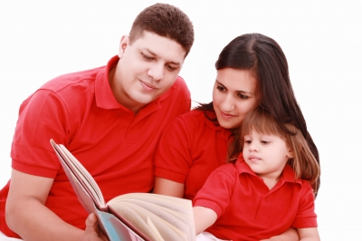 Parents Reading With Their Children