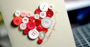 Heart Button Card
