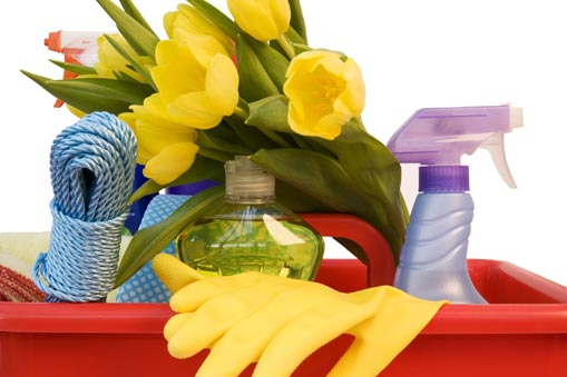 Spring Cleaning is Not Boring- It Can Help in Weight Loss Too
