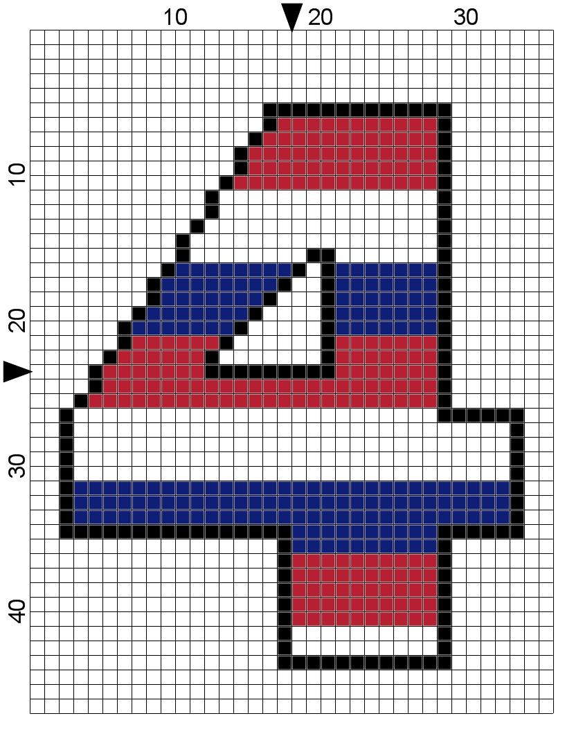 Free Fourth of July Cross Stitch Pattern