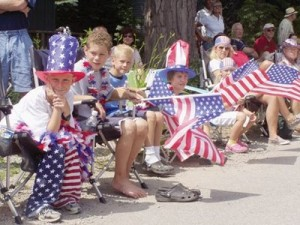 fourth of july parade sitters