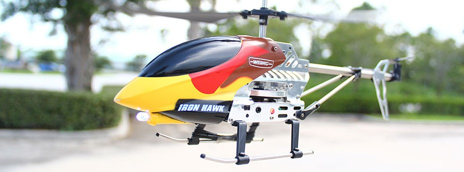 Iron Hawk Helicopter Review from Funky Planet