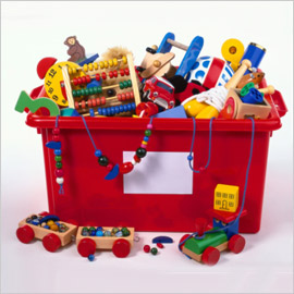Recycling And Kids Toys