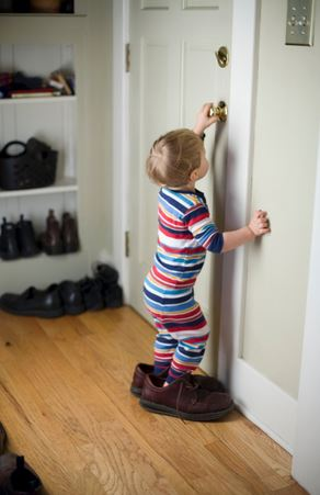 Baby Walking the Walk: 5 Ways to Childproof Your Doors
