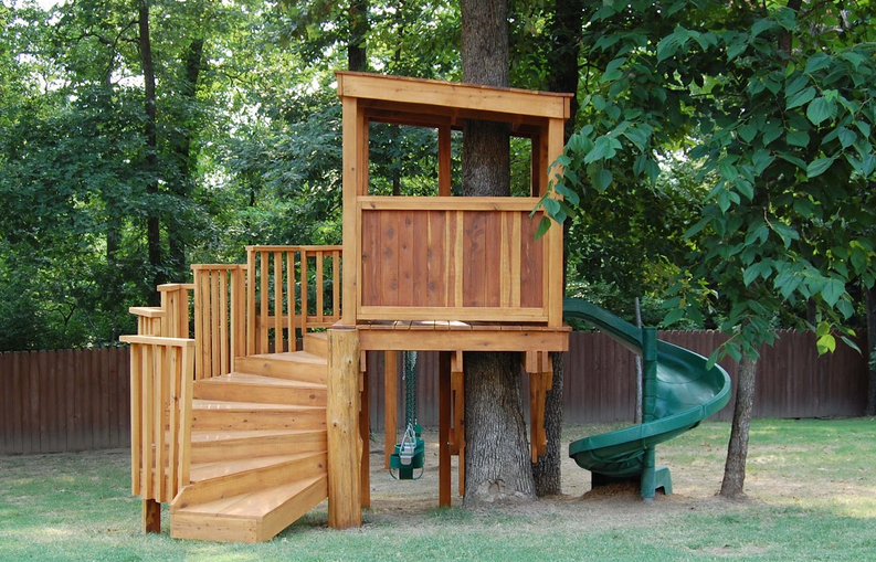 Top of the Treehouse: Ideas for Designing Your Backyard Club