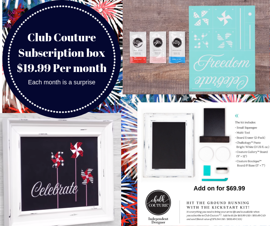 Club Couture Subscription Box- June Exclusive